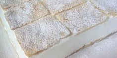 Šampita ~ a wonderful Serbian dessert ~ whipped marshmallow filling with a phyllo dough crust!