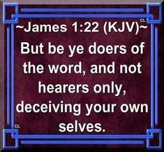 Bible Verses Kjv, King James Bible Verses, Bible Verse Art, Biblical Quotes, Bible Quotes, Doers Of The Word, Word Of God, Youth Bible Study, Insightful Quotes