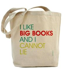 I used to buy big books ... back in the day when I could stay awake beyond two pages.