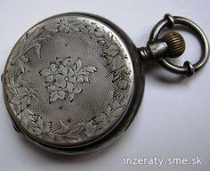 strieborné vreckové hodinky aj sólovo