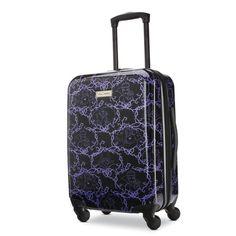 """American Tourister Disney 21"""" Hardside Spinner Luggage Disney Luggage, Kids Luggage, Carry On Luggage, American, Lightweight Luggage, Hardside Spinner Luggage, Carry On Size, Spinner Suitcase, Disney Shows"""