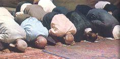 Het ritueel van de islam is bidden