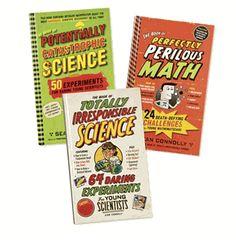 Science & Math Challenge Book Set (3) - Back to School Sale!