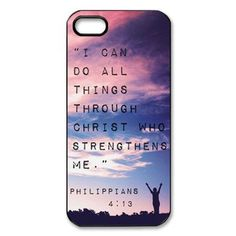 For I Phone 5 5g 5S New Funny Philippians in Nature Best Durable Case Cover | eBay