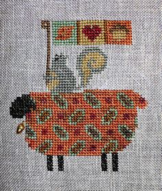 Bent Creek's Fall Ewe Cross Stitch by Kathryn D.  Flickr ~ Photo Sharing!