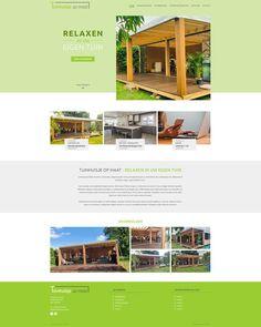 Vandaag is het website ontwerp van Tuinhuisjeopmaat.be goedgekeurd door de klant. Cabin, Website, House Styles, Home Decor, Decoration Home, Room Decor, Cabins, Cottage, Home Interior Design