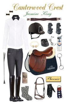 """Canterwood Crest: Jasmine King"" by equine-couture ❤ liked on Polyvore"