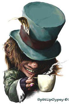 Alice In Wonderland   SplitLipGypsy   deviantART