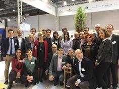 Prowein 2015 - Vinergie mit seinen Genossenschaften Marrenon, Plaimont Producteurs, Estandon, Blasons de Bourgogne. Agence à la carte kümmert sich um die Kommunikation in Deutschland