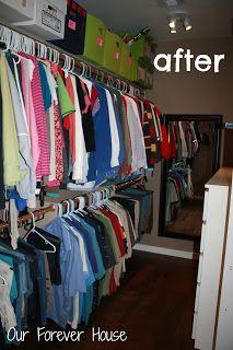 Our Forever House: Master Closet Makeover