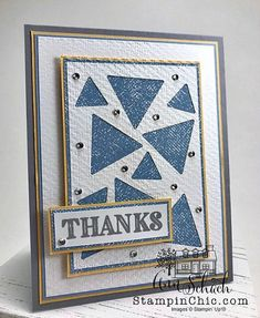Diy Cards, Your Cards, Hexagon Cards, Right Triangle, Make Your Own Card, Card Patterns, Scrapbook, Paper Pumpkin, Stamping Up