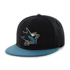 NHL San Jose Sharks Two-Tone Backscratcher Snapback Cap by '47 Brand. $10.23. Introducing the '47 Brand San Jose Sharks Snapback Cap. Officially licensed by National Hockey League, this '47 Brand exclusive features an embroidered front logo with that classic, vintage throwback look, and is available for all your favorite teams. Save 49% Off!