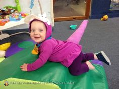 crawling around at daycare