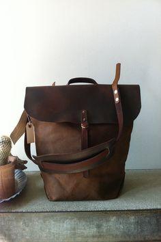 Stanley + Sons Bank Bag:: handmade in Brooklyn  $325.00