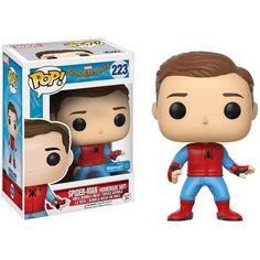 POP! Marvel #223: Spider-Man: Homecoming: SPIDER-MAN [HOMEMADE SUIT - UNMASKED] - Walmart Exclusive