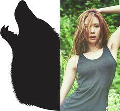 Supernatural&KPOP // Werewolf // Euaerin of 9MUSES