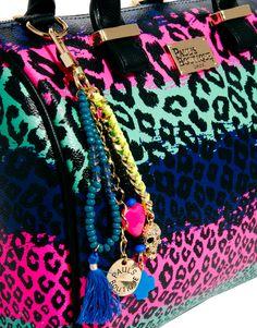 Paul's Boutique Molly Rainbow Leopard Bag