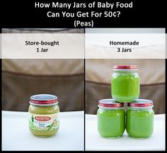 Making your own Baby Food at Home is a seriously cost effective move!  Click to read our tips for getting started!
