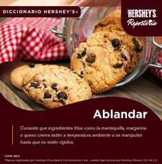 Conoce más del mundo de los postres con Hershey's® Repostería. #Hersheys #Chocolate #InspiraSonrisas #Repostería #Postres #Receta #Recetario #Delicioso #Diccionario