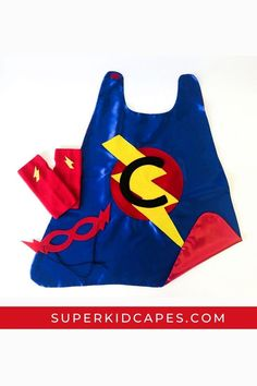 Let us celebrate your little one on their Birthday or deck them out for Halloween in our custom made superhero cape for boys and girls. Our one-of-a-kind handmade superhero capes are perfect for every occasion; Halloween, dress-up days at school, Easter baskets, big brother and sister gifts, party favors, or Christmas gifts. Each cape comes in over 20 color combinations and can be paired with our superhero masks, utility belts, and gloves. Start your adventure today at superkidcapes.com! Orange Gloves, Green Gloves, Superhero Dress Up, Superhero Capes, Birthday Gifts For Boys, Boy Birthday, Cape Designs, Capes For Kids