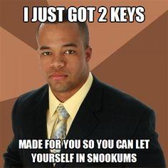 Black Guy Got Keys