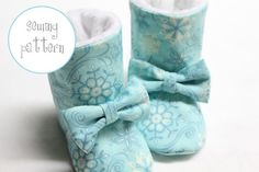 Botas de bebé Patrón - Invierno Botas - Tallas 1-5