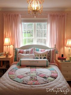 the exact set up for our bedroom, just with completely different furniture and décor.