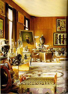 Yves Saint Laurent's apartment in rue de Babylone Paris
