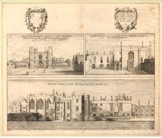 From Wikiwand: Priory of St John at Clerkenwell, London in 1661, by Wenceslaus Hollar