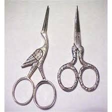 vintage embroidery scissors