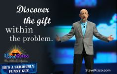 Discover the gift within the problem.  #quotes @motivationalquotes @laughter @inspiration