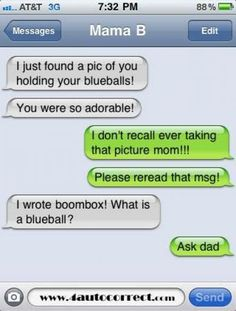 auto correct fails dirty | 10 More Hilarious Autocorrect Fails From Mom Dad