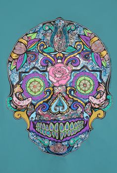 ''Karmic Chi Love Thing Sugar Skull'' by Lynsey Morgann Laurence & Isabella Cammareri, £24.50