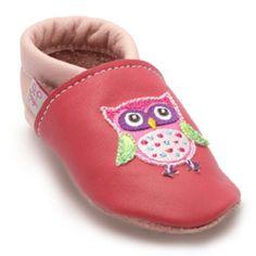 TROSTEL Girls Krabbelschuh Eule pink #Babyschuhe #Krabbelschuhe
