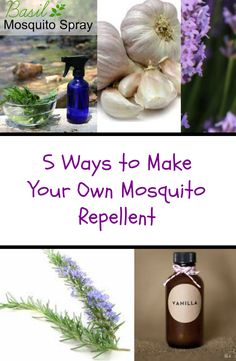Why use toxic chemical mosquito repellent when you can make your own natural homemade mosquito spray?  Check out these 4 repellent recipes that will surely keep mosquitoes and other insects away! See tutorials ---> http://www.discountqueens.com/4-ways-to-make-your-own-mosquito-repellent/