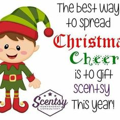 Spread the Christmas cheer with a gift from Scentsy!
