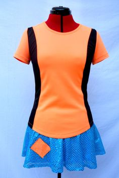 Made to order the perfect running outfit, beautiful and super comfortable made of light weight fabric moisture wicking material, breathable, and