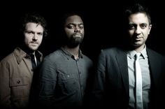 The Vijay Iyer Trio is Stephen Crump, Marcus Gilmore and Vijay Iyer. (Barbara Rigon via Facebook)