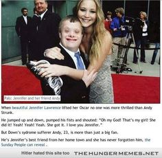 Why Jennifer Lawrence Rocks.