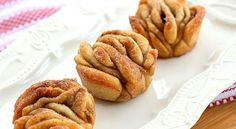 Pull apart cinnamon sugar muffins