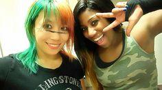 Asuka and Ember Moon awesome ladies! Wrestling Team, Watch Wrestling, Wrestling Divas, Wwe Women's Division, Wwe Female Wrestlers, Wwe Girls, Wwe Wallpapers, Wwe Womens, Total Divas