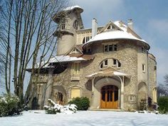 Art Nouveau house, France.