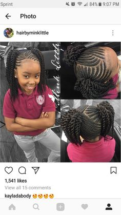 Kid hair styles