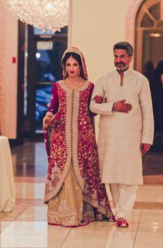 Father-daughter  emotional wedding moment! #wedding #bride