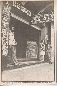 Legendary Kingston record store, in Jamaica Reggae Rasta, Reggae Music, Vinyl Music, Vinyl Records, Bob Marley, Jamaica History, Reggae Artists, Jamaican Music, Vinyl Junkies