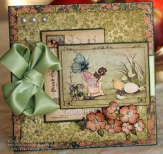 Fairy Wings Graphic 45 Card