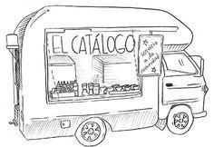 Food Trucks DF: Paisaje y catálogo