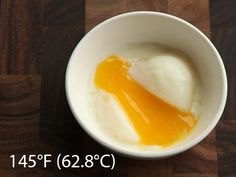Getting ready to try to cook soft boiled eggs with my sous vide machine. This is the goal.