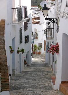 sunsurfer: Ancient Street, Andalucia, Spain photo by john