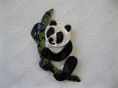 Panda Bear Pin